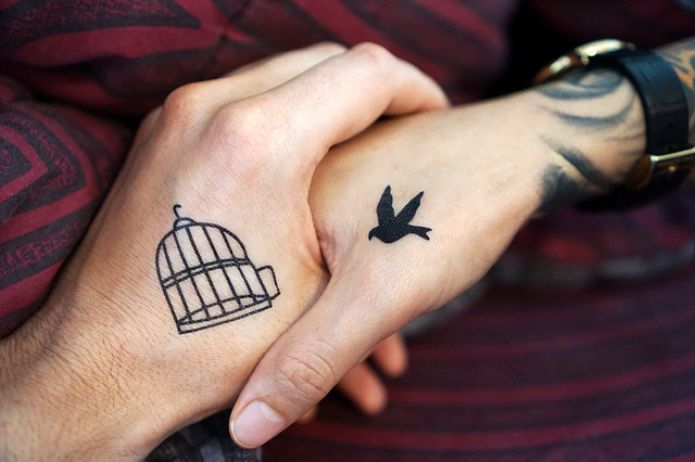 Tattoo Hand Arms Couple Love Friend Friend Tattoos