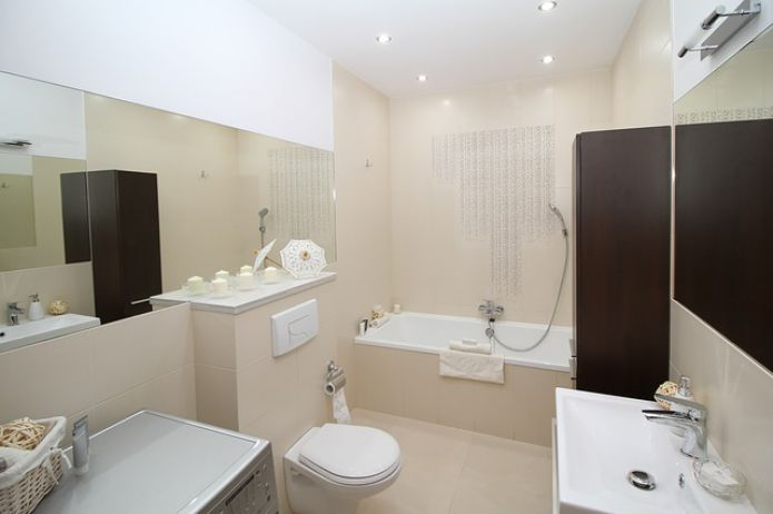toilet, furniture, interior, lighting