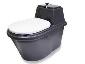 Peat toilet - powder closet